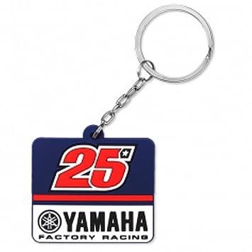 Maverick Vinales 25 Moto GP Yamaha Factory Racing Llavero ...