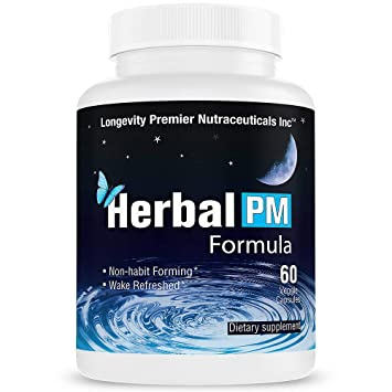 Amazon.com: Longevity Herbal PM - Herbal Sleep Formula with 5-htp ...