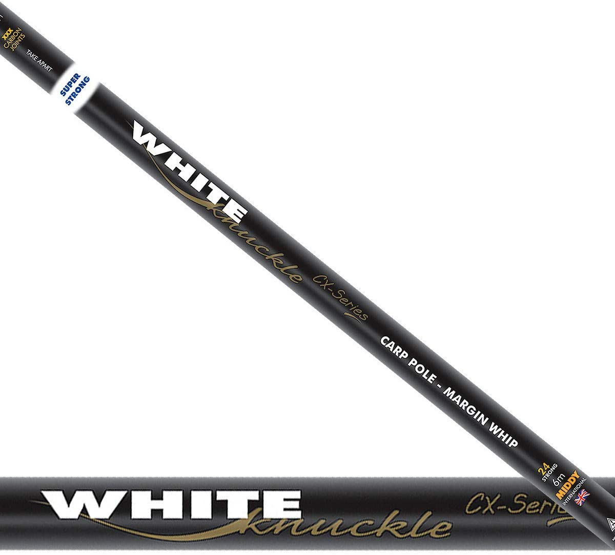 Middy White Knuckle CX Series Margin Pole