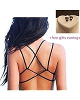 Underwear,toraway Women Crop Tops Strap Vest Cut Out Shirt Beach Tank