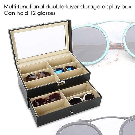 Amazon.com: GOTOTOP 12 piezas de almacenamiento de gafas de ...
