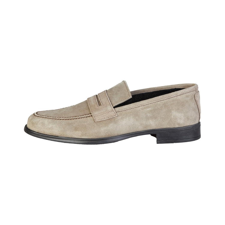 PIERRE CARDIN BENJAMIN Mocasines Para Hombre Deslizamiento-En Los Zapatos Marrón