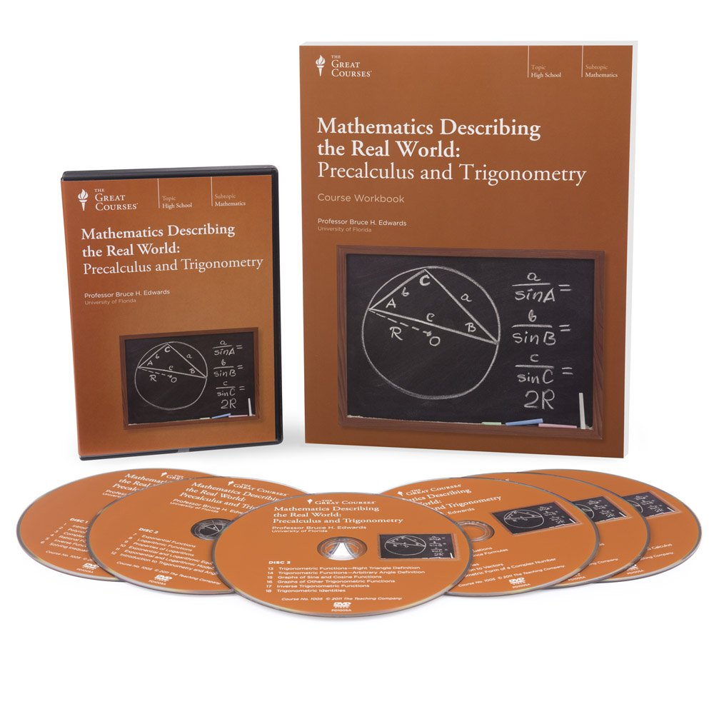 Amazon.com: Mathematics Describing the Real World: Precalculus and  Trigonometry: Bruce H. Edwards, The Great Courses: Movies & TV