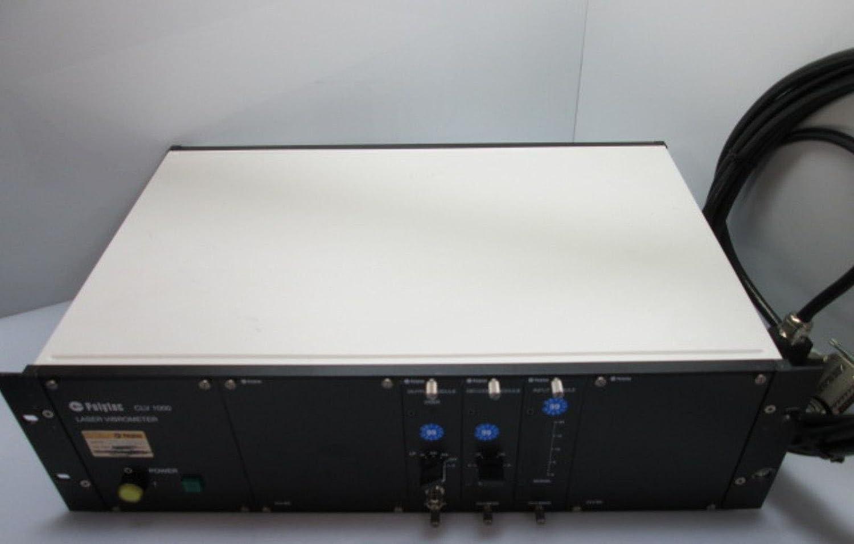 Polytec CLV-1000 Laser Vibrometer, CLV-M001 Output, CLV-M030