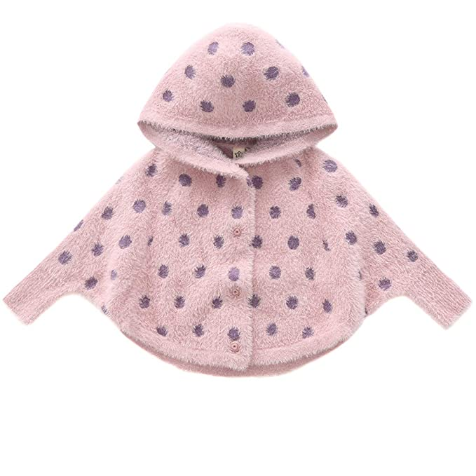 Amazon.com: Kids Baby bebé Girl Knit bolsillo frontal Button ...
