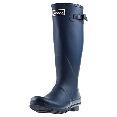 Barbour Mens bede Winter Mid Calf Snow Waterproof Rain Wellington Boots -  Navy - 8-