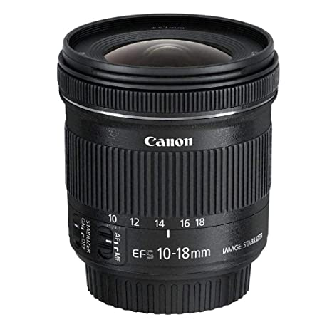 Canon EF-S 10-18 mm f:4.5-5.6 IS STM: Amazon.es: Electrónica