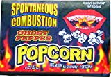 Popcorn that explodes in your mouth with Ghost Pepper Heat. Ingredients: Popcorn, Partially Hydrogenated Soybean Oil, Salt, Spices, Natural and Artificial Flavors, and Ghost Chili Pepper (Bhut Jolokia). Munch on this fiery snack to satisfy yo...