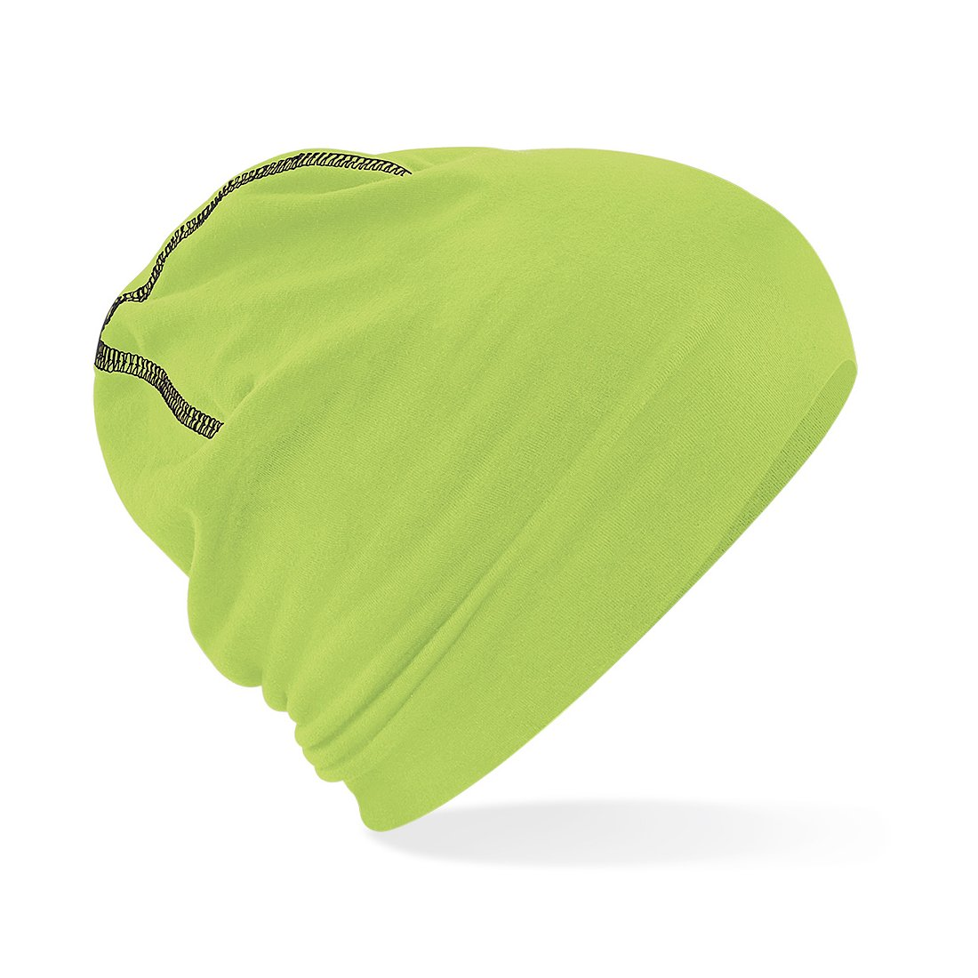 Gorro Beanie de algodón - Ligero y Suave - Perfecto para Invierno, Deportes, Bici, Correr, Trabajo, Industria - Hombre/Mujer (Unisex) (Azul) BF