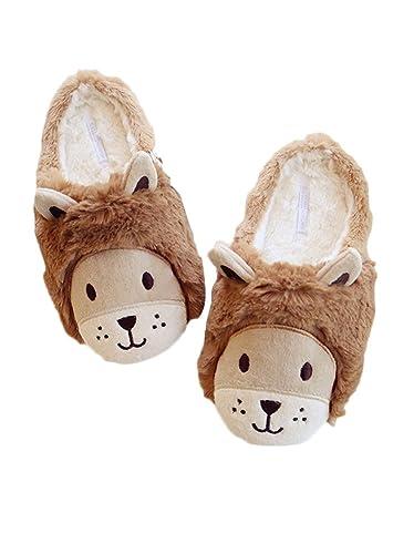 Zapatillas de interior de invierno para mujeres (EU 40'41, Brown Bear)