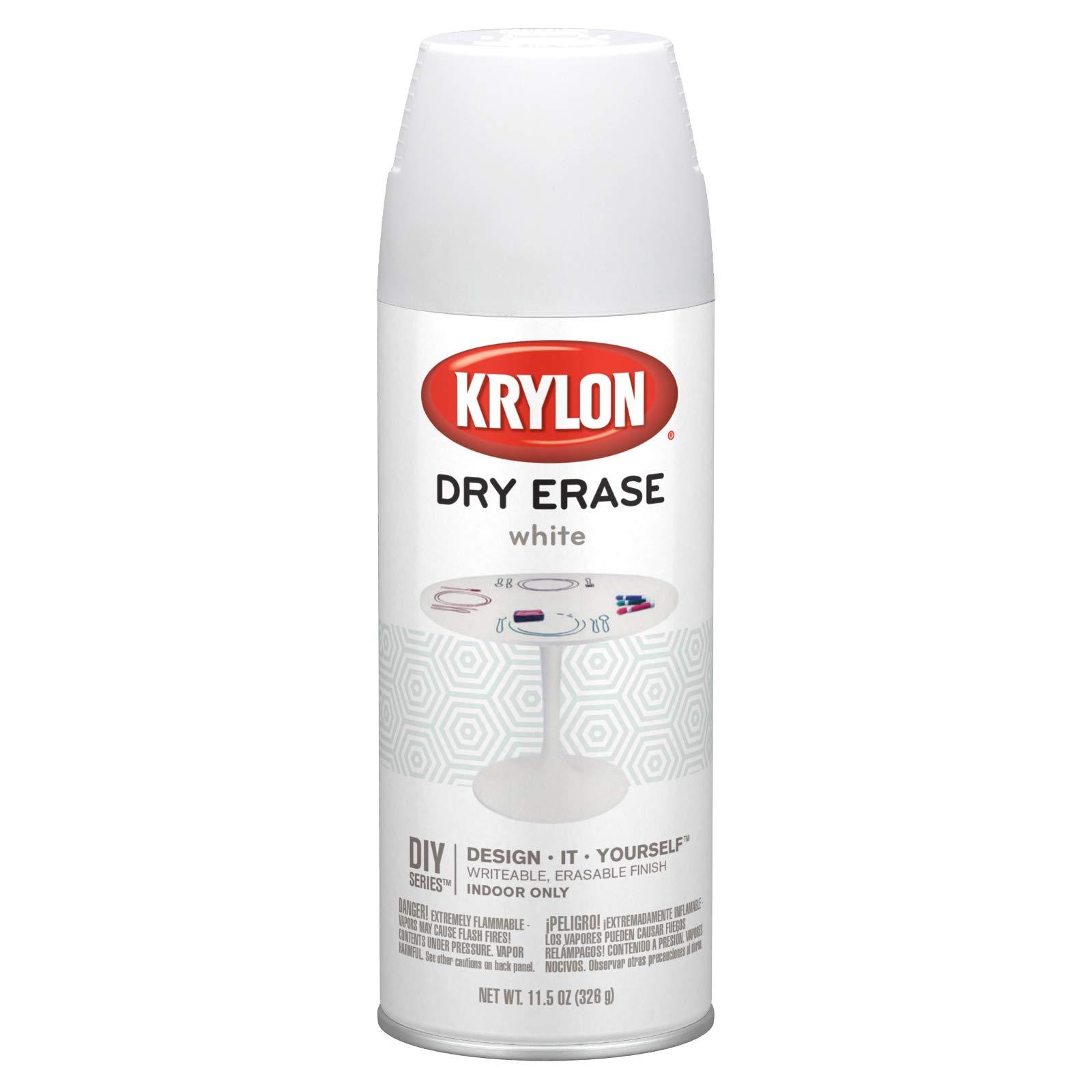 Krylon Dry-Erase Aerosol Spray 11.5oz, White by Krylon