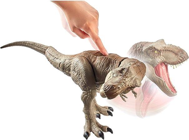 Jurassic World T-Rex Mordi e Attacca di Mattel GCT91