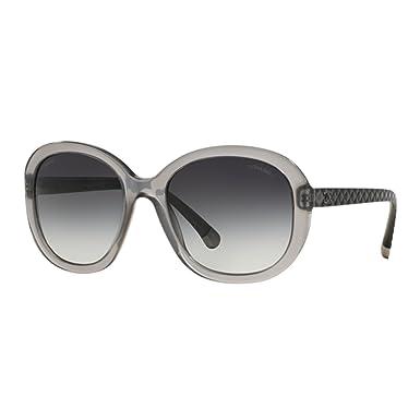 ffe90bec0df55 Chanel Matelassé Grey CH5328 1532S6 56-20 Large Gradient  Amazon.co.uk   Clothing