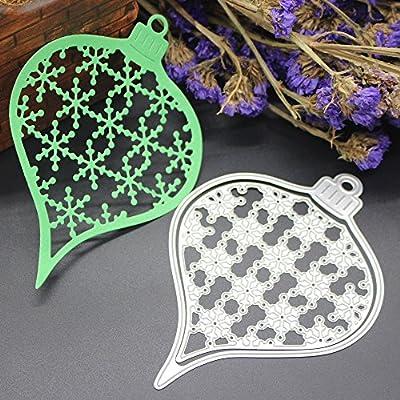 Cutting Dies,Pollyhb New Metal Cutting Dies Stencils Scrapbooking Embossing  DIY Crafts,Christmas Castle Hedgehog Duck Circular Rectangle,for Card