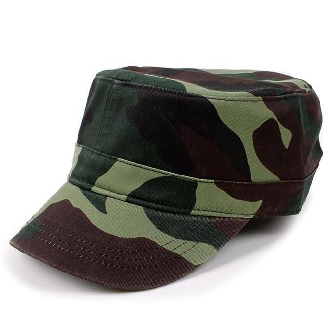 3bfeb8eaf831d Gorras planas Gorra militar  sombrero de algodón para hombres y mujeres   sombrero de ocio de moda de verano versión coreana de la primavera  casquillo ...