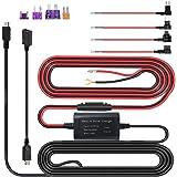 ドライブレコーダー用 電源ケーブル 24時間駐車監視 Mini USB電源直結コード 低電圧保護12V/24V対応5V輸出 ドラレコレーダー/探知機/GPS対応