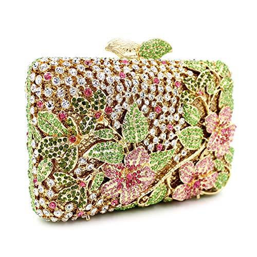 Evening Metal Golden Bags Bags Bags Crystal Evening Rhinestone Rhinestone KLLXEB Evening Women'S Crystal Bag Rhinestone Crystal E0wxPq1tp
