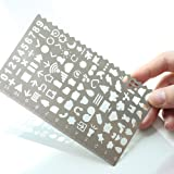 Life Element Template Ruler,JoyTong Planner Stencils Size 4.92テδ2.95 by JoyTong