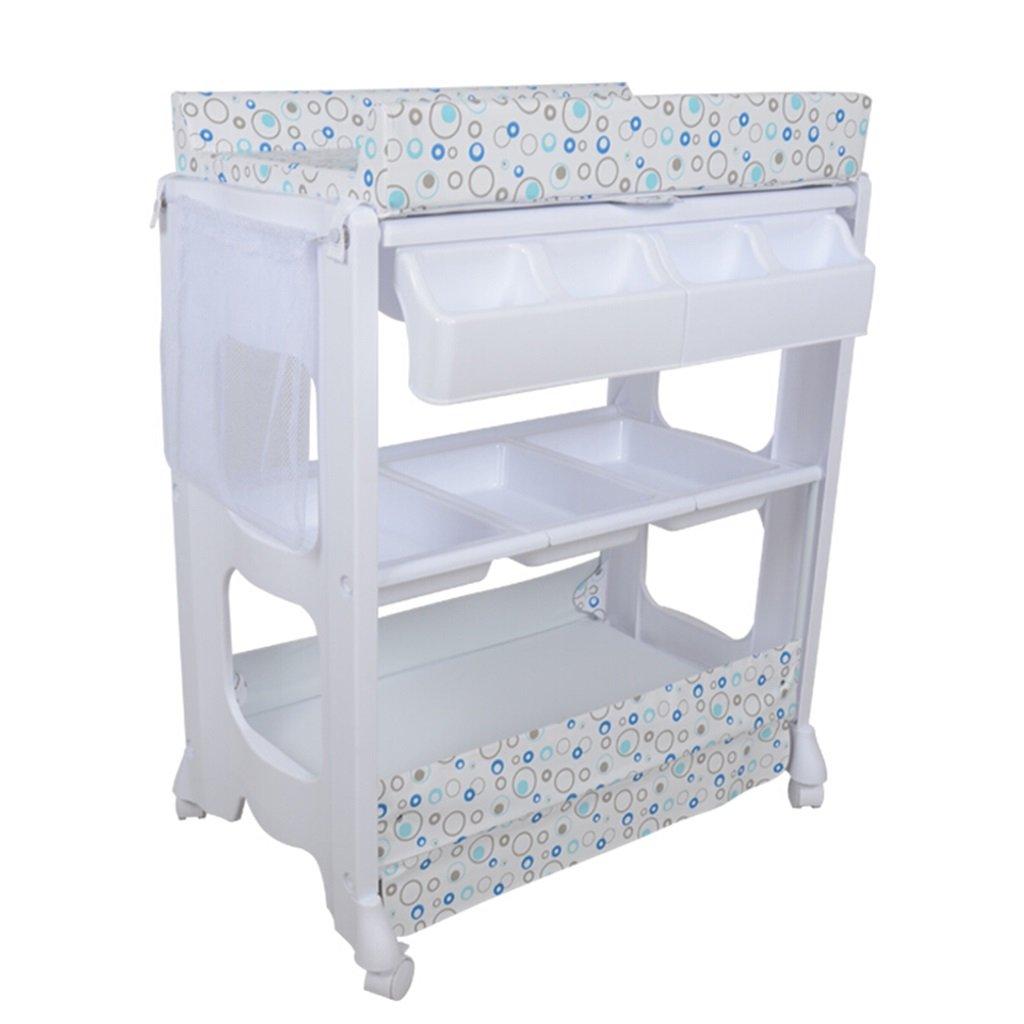多機能プラスチック看護机ベビータッチマッサージベッドシャワースタンド仕上げテーブル0~2歳の赤ちゃんに適したテーブルを変更する (色 : B)  B B07DYM69Y2