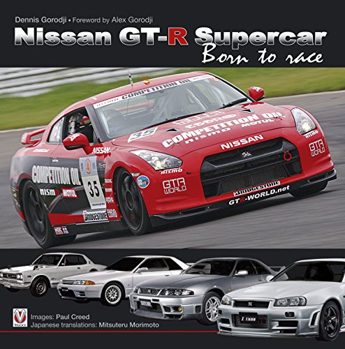 (Nissan GT-R Supercar: Born to race)
