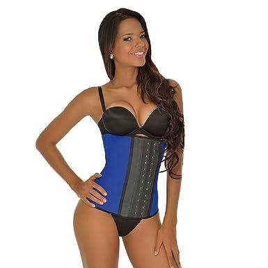 007b46b4be1 Ann Michell 2024 Women s Workout Latex Waist Cincher Sport 3 Hooks at  Amazon Women s Clothing store