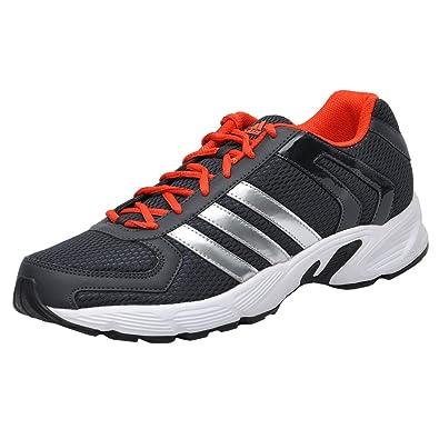 adidas black and orange running shoes