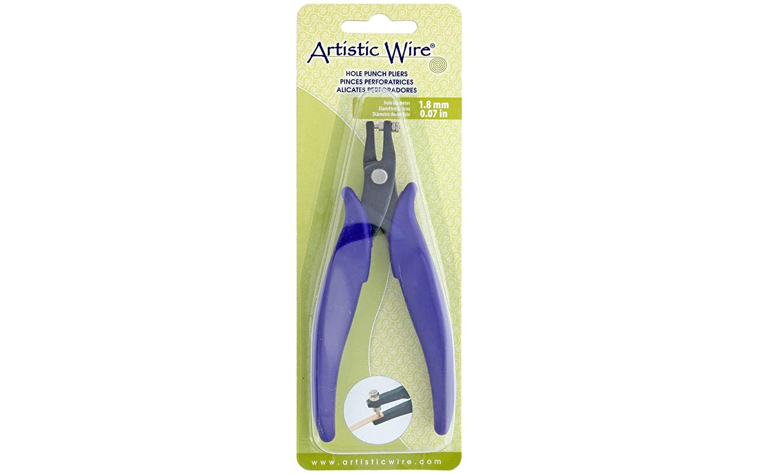 Amazon.com: Artistic Wire 205S-010 Hole Punch Pliers