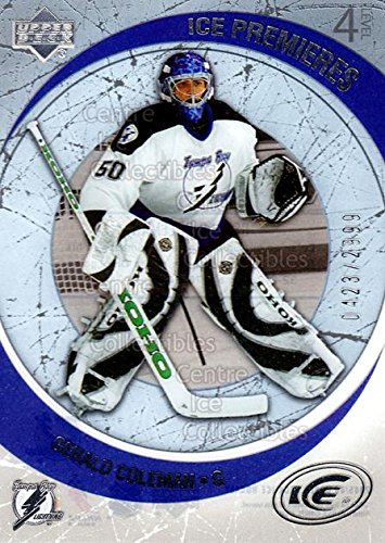 (CI) Gerald Coleman Hockey Card 2005-06 UD Ice (base) 209 Gerald Coleman