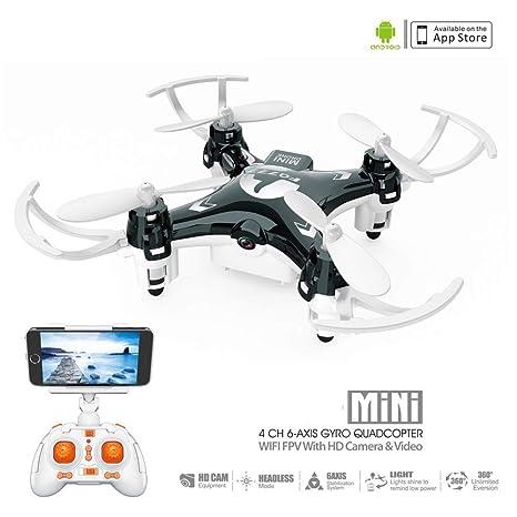 Mini Drone Nano - 4 Canales 6 Ejes Gyro 360 Grados 2.4G RC ...