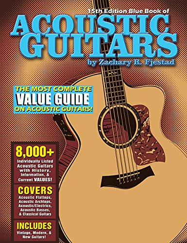 Blue Book of Acoustic Guitars from Hal Leonard