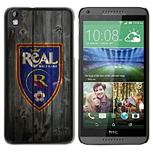 HTC Desire 816 Salt Lake Real On Wood Black Screen Phone Case Unique and Custom Design