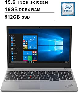 2020 Lenovo Premium ThinkPad E590 15.6 Inch FHD IPS Laptop (Intel Quad-Core i7-8565U up to 4.6 GHz, 16GB RAM, 512GB SSD, Intel UHD Graphics?620, Bluetooth, WiFi, HDMI, Win 10 Pro) (Black)