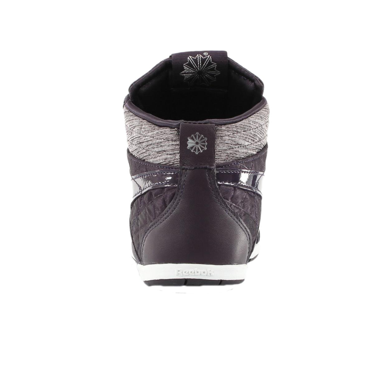 a95cc3a1720f42 Reebok Womens Girls Roxity Mid High top Purple Trainers sizes UK 4 5 6   Amazon.co.uk  Shoes   Bags