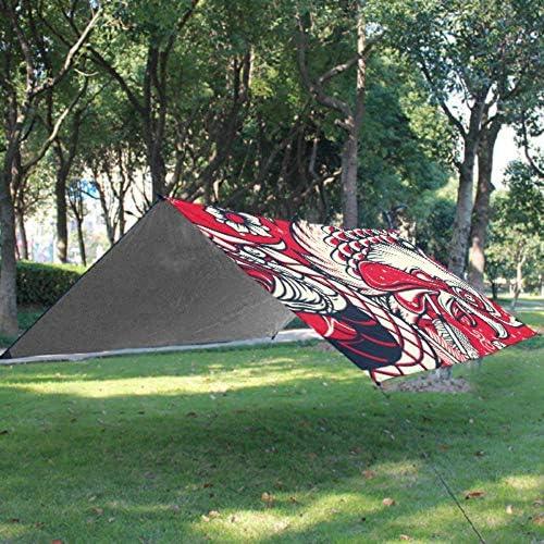 Couverture de plage pour ados Old School Snake Rooster Head Tattoo Pique-nique Couvertures 67 X 57 In (170 X 145 Cm) Imperméable Et Séchage Rapide Pour Voyage, Camping, Randonnée, Festival De Musique