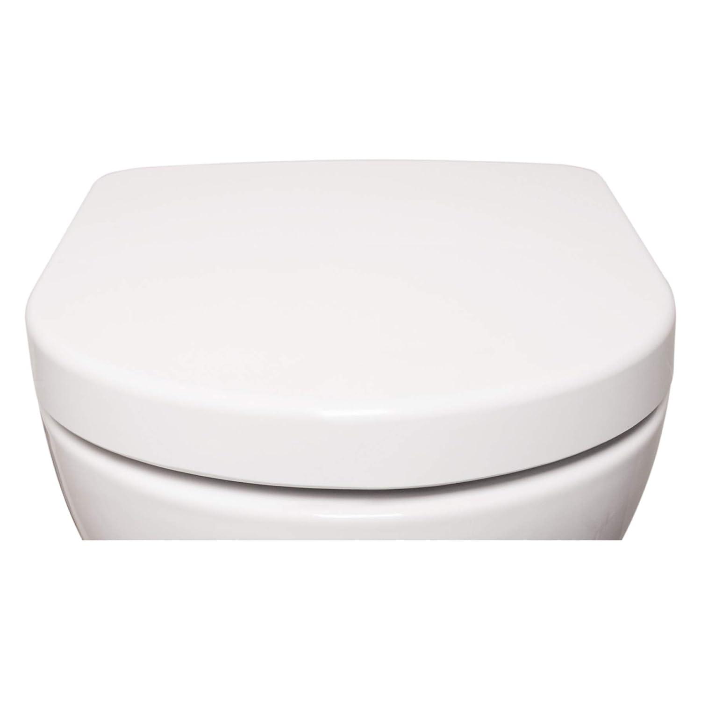 Bullseat 4.1 WC-Sitz aus Duroplast in weiß mit Absenkautomatik
