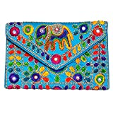 Traditional Handmade Clutch Bag by Indian artists- Mother's day gifting