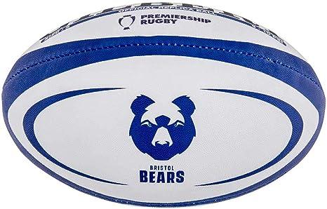 Gilbert Bristol Bears - Réplica de Pelota de Rugby, Mini Size 1 ...