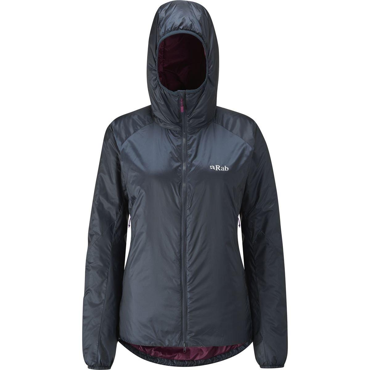 Rab xenon-x Jacket – Women 's B01GKDNR9G 10|Ebony/Berry Ebony/Berry 10