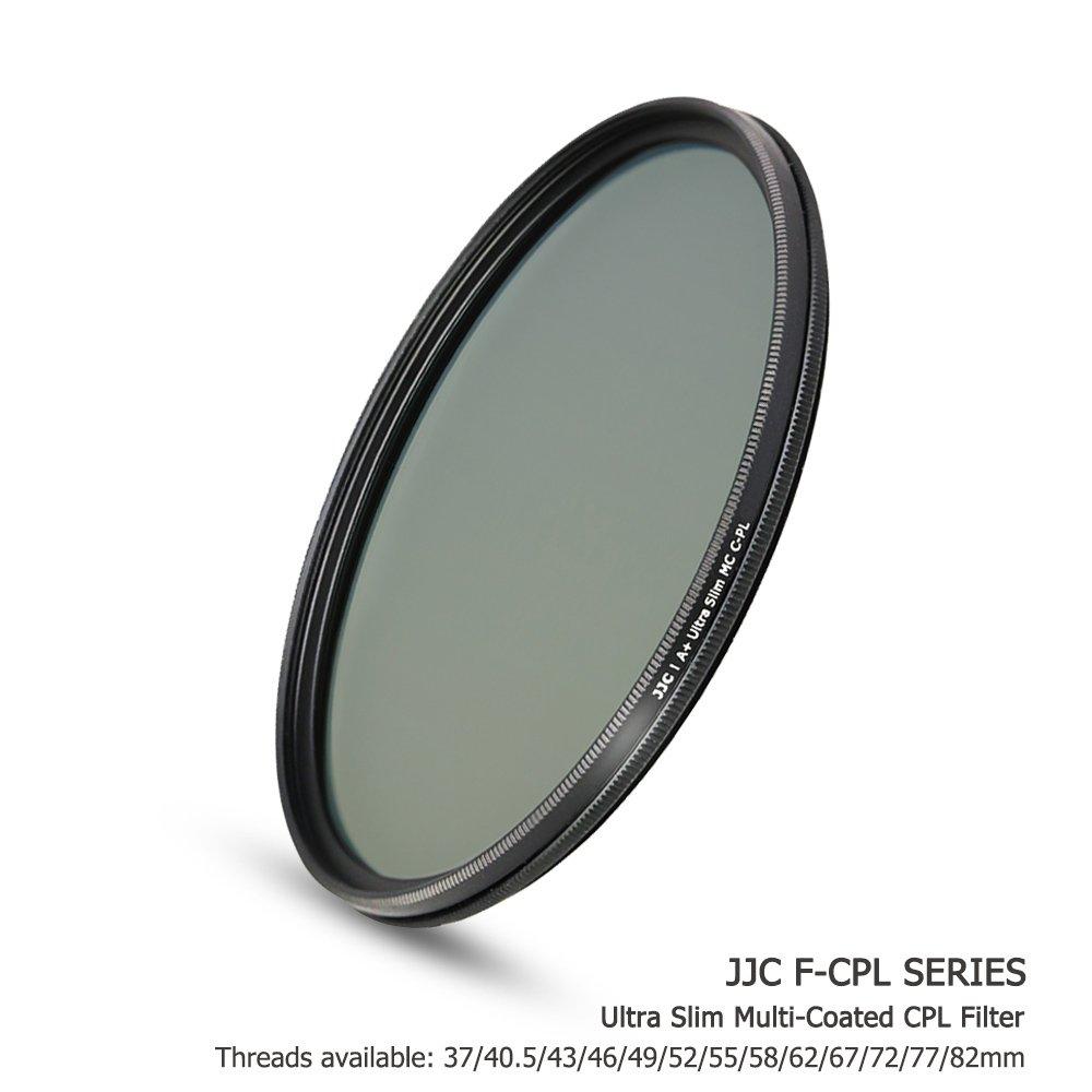JJC 12-Layer 37mm CPL Filter Circular Polarizer for Olympus 14-42mm 1:3.5-5.6 EZ Kit Lens on Olympus OM-D EM10 Mark III II EPL9 EPL8 EPL7 EPL6 EPL3 EPL2 EP3 and Other Lenses with 37mm Filter Thread by JJC