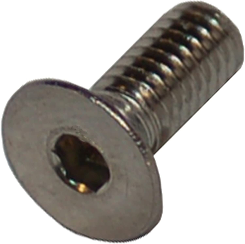 Stainless Steel Metric M3 x .5 x 16mm Flat Socket Head Screw pack of 20