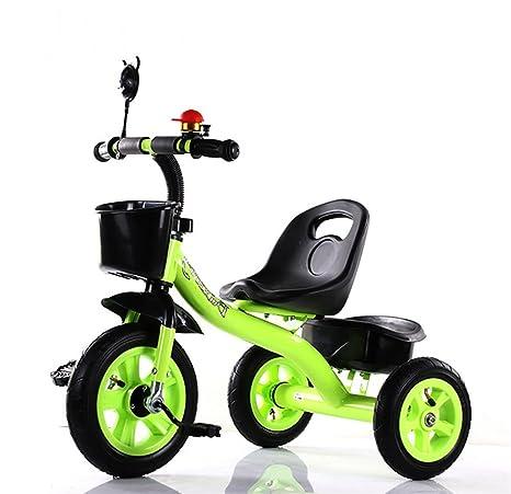 MASLEID Los niños de 1-6 años de Edad Moto Carro de Tres Ruedas de
