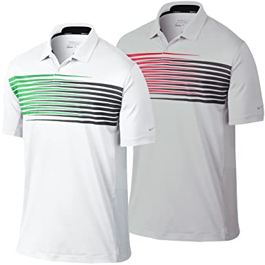 db980b23c56 Image Unavailable. Image not available for. Colour  Nike Golf 2014 Mens Dri  FIT Innovation Season Stripe Polo Shirt