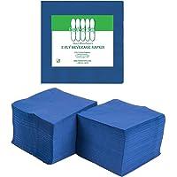 Perfectware 2 capas azul marino - 200 servilletas para bebidas paquete de 200 unidades, 2 capas, 6,35 cm de alto, 12,7…