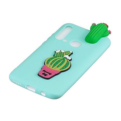 Amazon.com: HongYong Cactus Case for Huawei P20 lite (2019 ...