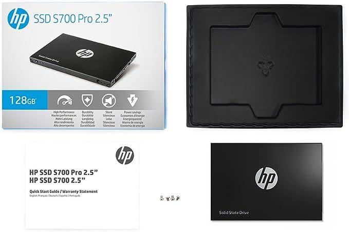 """SSD HP SSD S700 Pro 2.5/"""" 512GB SATA III 3D NAND Internal Solid State Drive 2AP"""