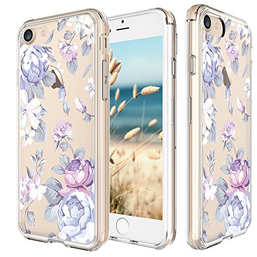 iphone-7-case-47-inch-cinocase-tropical-purple-rose-floral-flower-pattern-clear-case-solid-acrylic-h