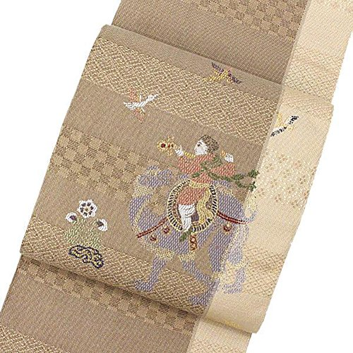神話意味スイス人名古屋帯 正絹 着物 きもの 遊人宴 紬 リサイクル 和装【中古】 70183501
