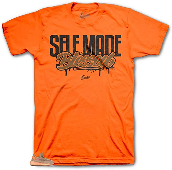 Shirt Match Yeezy Clay 350 Living Life Tee