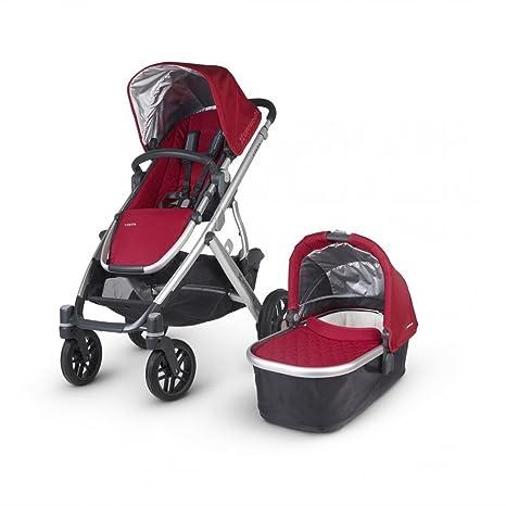 Uppababy Vista paseo y capazo P rojo Denny Red: Amazon.es: Bebé