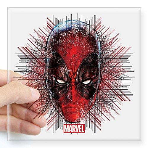 CafePress - Deadpool Square Sticker 3